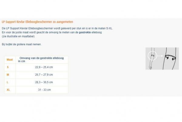 LP Support Kevlar Elleboogbeschermer