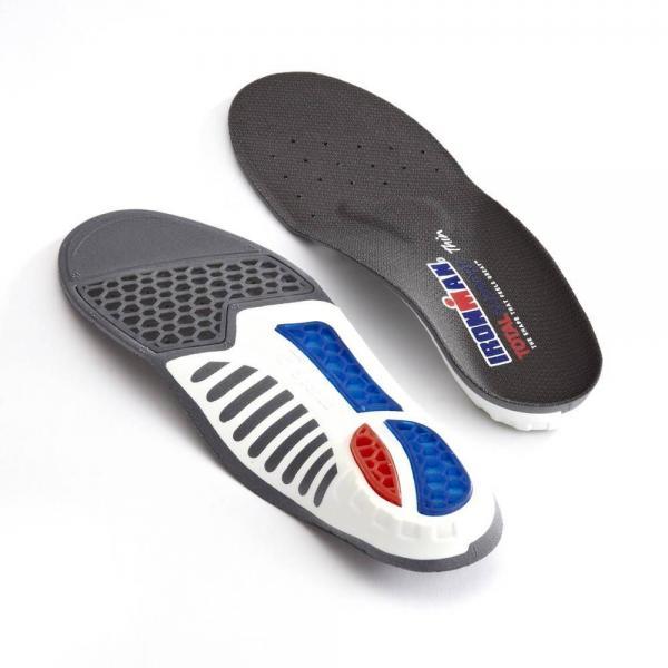 IRONMAN Total Support Thin inlegzolen – Overpronatie zolen – Naar binnenstaande voeten – Per paar