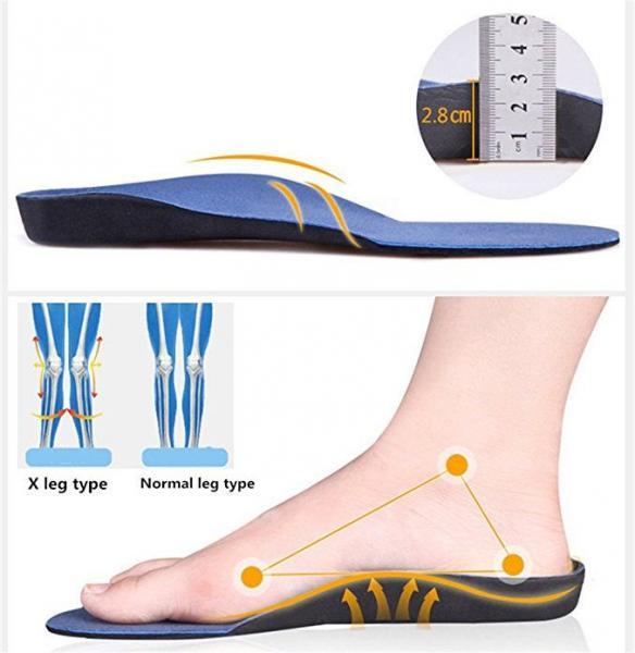 Solelution Doorgezakte voet zolen – Per paar