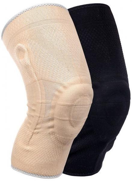 Medidu Premium kniebrace met baleinen – Lichtgewicht – In zwart en beige
