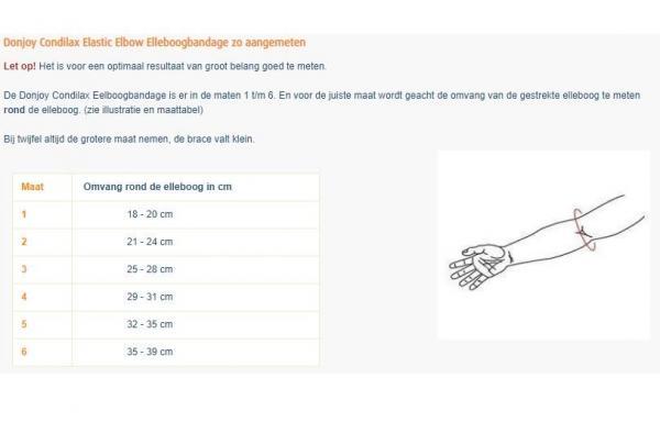 Donjoy Condilax Elastic Elbow Elleboogbandage