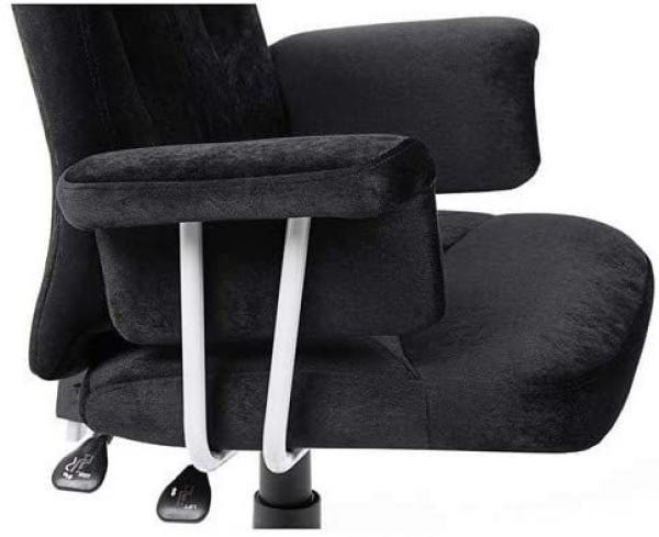 360 Draaibare Bureaustoel – Verstelbare zithoogte – Zwart