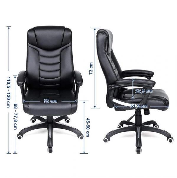 Ergolution – Luxe Design bureaustoel met hoog zitcomfort