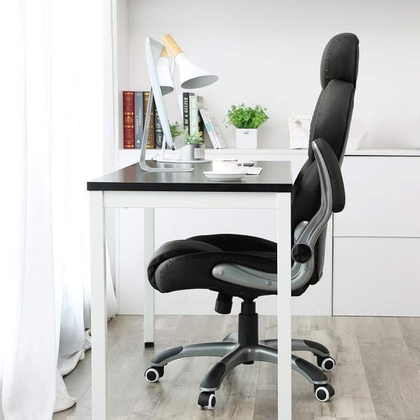 Luxe bureaustoel met verstelbare hoofdsteun