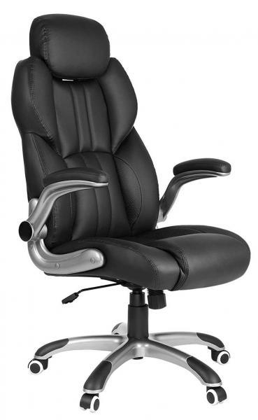Luxe bureaustoel met verstelbare hoofdsteun Ergonomisch werken