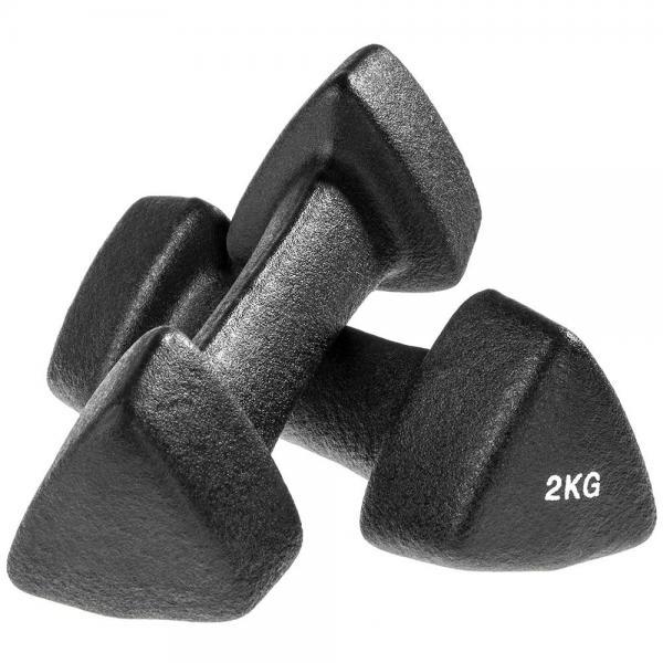 Dumbells / Dumbells set 2 kg (paar) Thuis Fitness