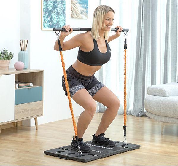 Fitness Elastieken Met Draagbare Trainingssysteem en Deurstop Thuis Fitness