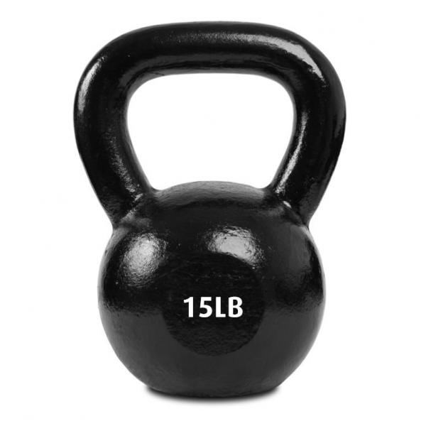 Kettlebell 15 LB / 6,8 KG Thuis Fitness